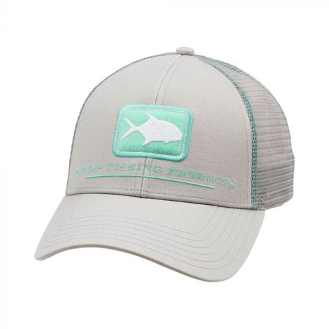 Simms Permit Icon Trucker Sterling Cap