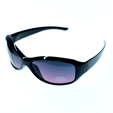 UV protection Sport-Sunglasses Black & Purple Colored #3881