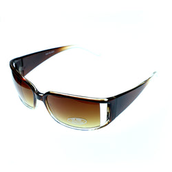 UV protection Sport-Sunglasses Two-Tone & Brown Colored #3878