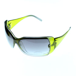 UV protection Goggle-Sunglasses Green & Black Colored #3885
