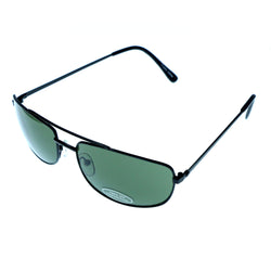UV protection Aviator-Sunglasses Black & Green Colored #3935