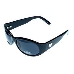 UV protection Goggle-Sunglasses Black & Gray Colored #3873