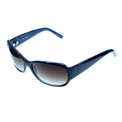 Blue & Brown Colored Acrylic Sport-Sunglasses #3940