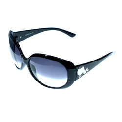 Black & Gray Colored Acrylic Goggle-Sunglasses #3936