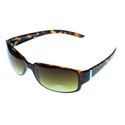 UV protection Rectangular-Sunglasses Tortoise-Shell & Yellow Colored #3948