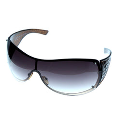 Brown & Purple Colored Acrylic Goggle-Sunglasses #3921