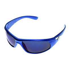 Blue & Purple Colored Acrylic Sport-Sunglasses With Logo Accents #3924