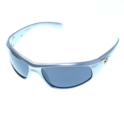 Silver-Tone & Green Colored Acrylic Sport-Sunglasses With Logo Accents #3924