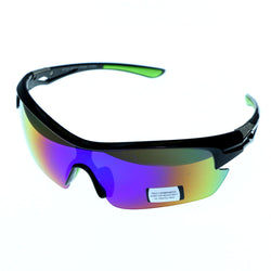 Mi Amore UV protection Shatter resistant Poly Carbonate Wrap-Sunglasses Two-Tone & Multicolor