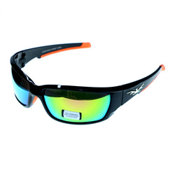 Mi Amore UV protection Shatter resistant Poly Carbonate Sport-Sunglasses Two-Tone & Multicolor