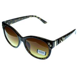 Mi Amore UV protection Shatter resistant Vintage Style Sunglasses Tortoise-Shell & Brown