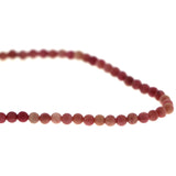 4mm Gemstone Rounds Rhodonite 4GR05