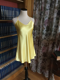 Sunrise Buttercup Yellow Silky Chemise