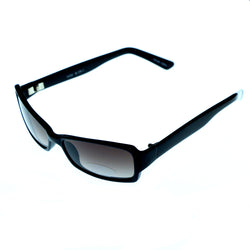 Mi Amore UV protection Rectangle-Sunglasses Black Frame/Gray Lens