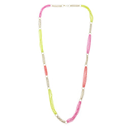 Colorful Metal Long-Necklace #3296