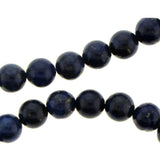 6mm Gemstone Rounds Lapis GR09