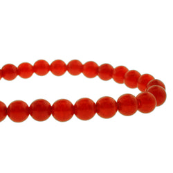 6mm Gemstone Rounds Ruby Gr30