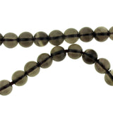 6mm Round Smokey Quartz Gemstone GR35