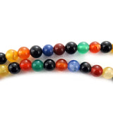 6mm Gemstone Round Mixed Onyx GR36