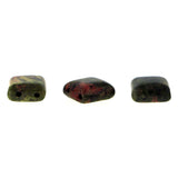 10X10mm Gemstone Spacer Unakite Grs07