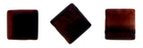 10X10mm Gemstone Spacer Red Tigers Eye GRS10 - Mi Amore