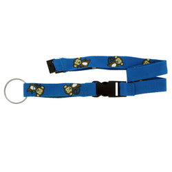 Monkies Lanyard-Keychain Blue & White Colored #122