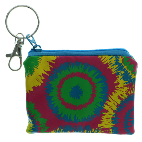 Change Purse Split-Ring-Keychain Colorful #251