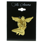 Angel Baby Brooch-Pin Gold-Tone Color  #LQP907