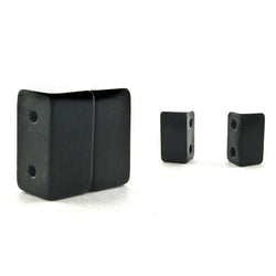 Magnetic Clasp 2 Hole Maglok Black Sets Of 10 MC05