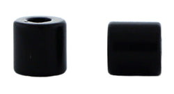 6mm Magnetic Clasp Set Of 10 Matte Black Barrel MC15 - Mi Amore