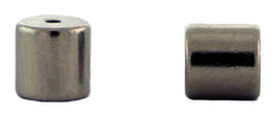 6mm Magnetic Clasp Set Of 10 Maglok Silver Barrel MC16 - Mi Amore