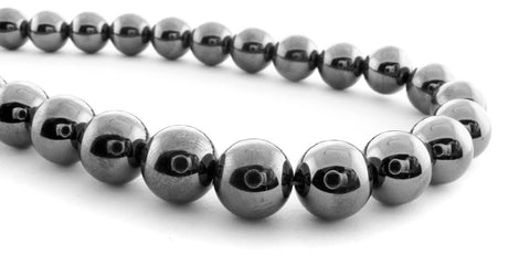 10mm Magnetic Hematite Round Beads Mh23
