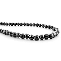 4X6mm Magnetic Hematite Tube Mh08