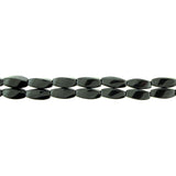 5X12mm Magnetic Hematite Twist Mh40