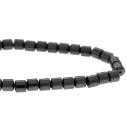 7mm Magnetic Hematite Drum Mh60