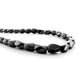 5X8mm Magnetic Hematite Twist Mh65