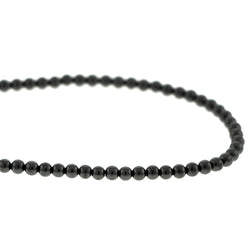 3mm Magnetic Hematite Round Mh67