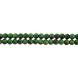 6mm Magnetic Marble Round Seagreen MM01