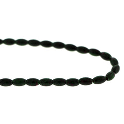 5X8mm Magnetic Marble Rice Dk Green MM13