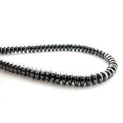 3mm Non-Magnetic Hematite Rondelles NMH01
