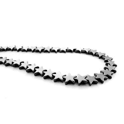 8mm Non-Magnetic Hematite Stars NMH12