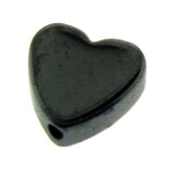 6mm Non-Magnetic Hematite Hearts NMH16