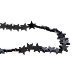 Non-Magnetic Hematite Star Beads NMH18