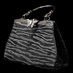 Women's Fashion Party Purse - Textured Design PS1976GREY