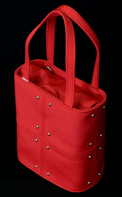 Women's Elegant Studded Bucket Tote bag PS495