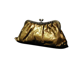 Womens Evening Party Bag - Soft Shiny Leather PS61K