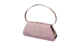 Shiny Ladies Evening Bag - Lavender PU Leather Fashion Clutch Purse for Women PS7819LI