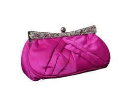 Women's Fashion Clutch Purse With Crystal Accents PS802P