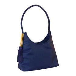 Blue Womens Shoulder Bag - Tote Handbag  PS8143BL-G