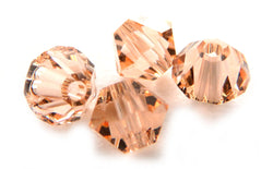 4mm Swarovski Crystals Light Peach S4C13 - Mi Amore